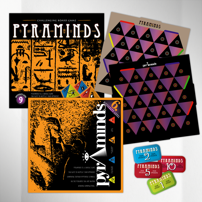 Pyraminds Boardgame Design