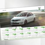 Škoda 2013 Calendar